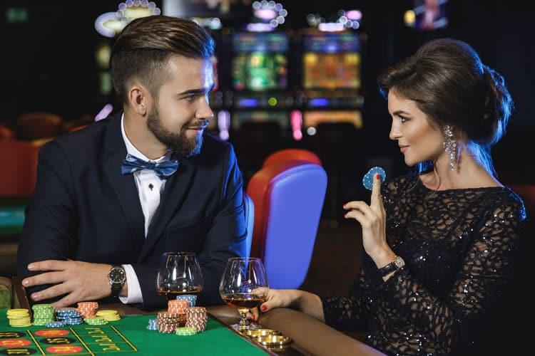Stel heeft date in casino