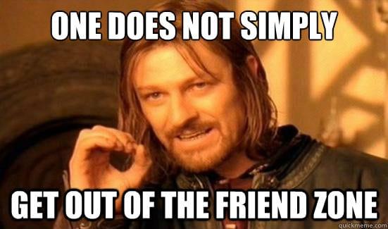 Hoe kom je uit de friendzone