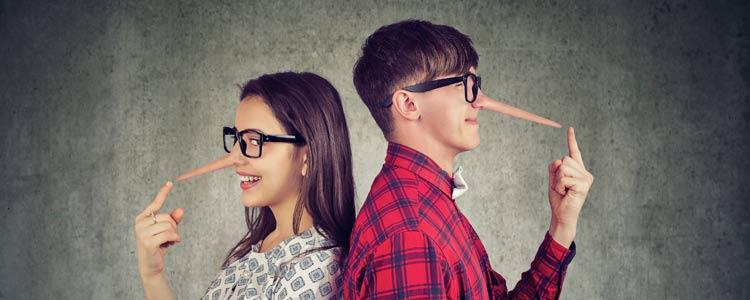 Meest voorkomende leugens datingsites
