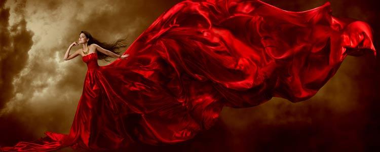 Rode kleren maken aantrekkelijk