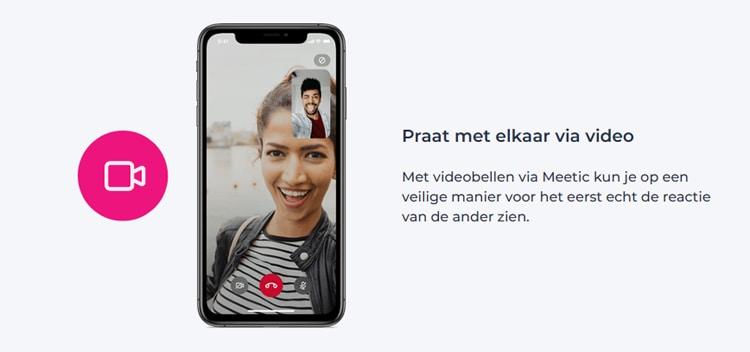 Videobellen met je date